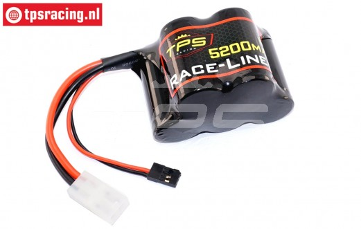 TPS5200/HP Racing-Line Hump Pack Akku 5200 mAh 6,0 Volt 15C, 1 st.