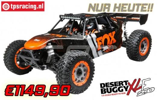 LOS05020T1 LOSI Desert Buggy XLE-2.0 Fox 4WD RTR