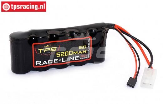 TPS5200/SP Racing-Line Akku 5200 mAh 6,0 Volt 10C, 1 st.