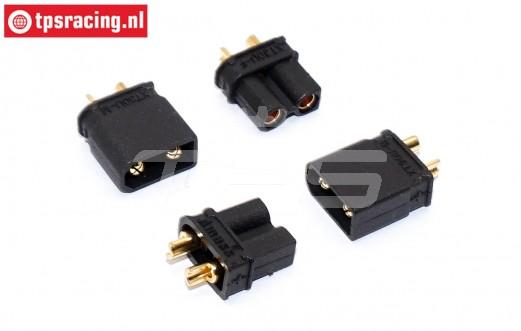 TPS087/30 AMASS XT30 Gold stecker Ø4,0 mm, 4 st.