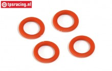 BWS53023 Silikon Differential O-ring, (BWS-LOSI-TLR), 1 st.