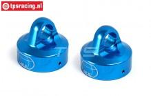 BWS55044B Stoßdämpferkappe Blau Ø24 mm, 2 st.