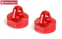 BWS55044R Stoßdämpferkappe Rot Ø24 mm, 2 st.
