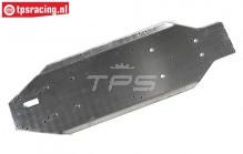 FG6271 Aluminium Chassis Leopard1 Race, 1 st.