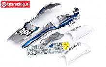 HPI7790 Karosserie Lackiert, Blau/Silber/Weiß, Set