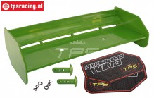 TPS85451/30 Nylon Heckspoiler Grun HPI-Rovan, Set