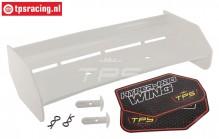 TPS85451/00 Nylon Heckspoiler Weiß HPI-Rovan, Set