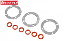 LOS242036 Differential Dichtung-Oring LMT Truck, Set