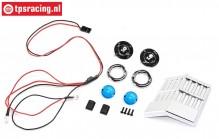 LOS240019 Son Uva LED-Leuchten mit Grill LMT, Set