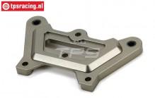 LOS351001 Alu Servo Saver platte DBXL-MTXL, 1 st.