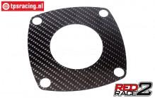 TPS1084/60 TPS® RedRace2 Luftleitblech vorne 60 mm, 1 st.