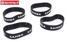 SAM4810Z Samba Resorohr Ringen Ø60-Ø70 mm Schwarz, 4 st.