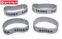 SAM4810S Samba Resorohr Ringen Ø60-Ø70 mm Silber, 4 st.