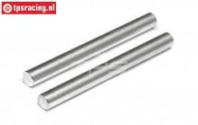 TPS86629 Stahl Servo Saver Achse HPI-Rovan, 2 st.