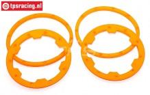TPS5030/OR HD Nylon Felgenringe Orange, 4 st.