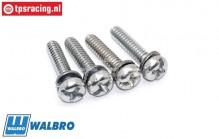 ZN0089 Walbro Pumpehalterung Schrauben, 4 st