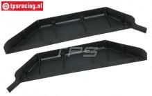 BWS51040 Chassis Seitenschutz links-rechts BWS-LOSI, Set