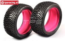 FG67218SSI Styx Super Soft Reifen mit einlagen Ø130-B65, 2 St.