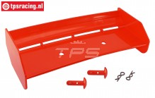 TPS85451/20 Nylon Heckspoiler Rot HPI-Rovan, Set