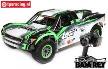 LOS05013T1 1/6 Super Baja Rey 4WD Desert Truck Brushless RTR, Schwarz