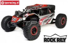 LOS05016T2 LOSI Super Baja Rock Rey 4WD Desert Truck Brushless RTR, Grau