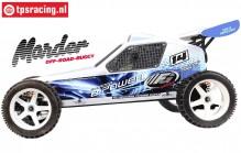 FG6000ER Marder Off-Road Buggy E Brushless RTR, 2WD