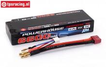 T1366002C 2S Li-Po Powerhouse 6600 mAh 100C, 1 st.