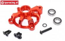TPS5113/03 Alu-Kupplungsglockehalter Rot, Set