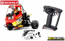 XR83001-01 X-Rider Flamingo Rot RTR, Set