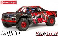 ARA106058T2 ARRMA 1/7 Mojave 6S BLX 4WD Rot/Schwarz RTR