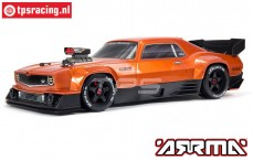 ARA7617V2T2 ARRMA FELONY 6S BLX 1/7 Muscle Car, Orange