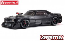 ARA7617V2T1 ARRMA FELONY 6S BLX 1/7 Muscle Car, Schwarz
