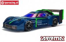 ARA4319V3BT2 VENDETTA 4X4 3S BLX Speed Bash Racer RTR, Bl.