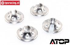 AT-5T018S ATOP Alu-Federteller Silber LOSI-BWS, 2 st.
