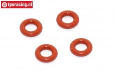 BWS53016/04 Stoßdämpfer O-ring unten BWS-LOSI, 4 st.