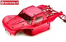 BWS59002/02 Karosserie Elasto-Flex Rot BWS-LOSI, Set
