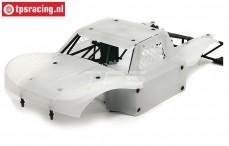 BWS59002 Karosserie Elasto-Flex Weiß BWS-LOSI, Set