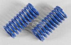 Schokdemper veer, (Ø17-Ø21), (Ø2,5 x L48 mm), (Blauw), 2 St.