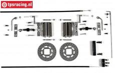FG10453 Tuning-Scheibenbremse hinten, Formel 1, Set