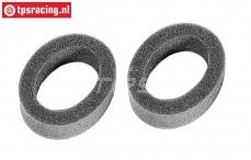 FG10466/05 Schaumstoff-Filtereinsatz eingeölt, 2 st.