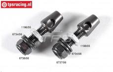 FG1196/03 Stabilisatorhalter, M6-Ø5,0 mm, Set