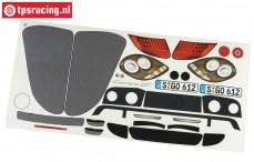 FG2083/01 Dekorbogen Porsche Carrera GT, Set