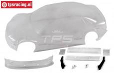 FG4149 Karosserie Audi A4 DTM glasklahr, Set