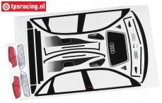 FG4153/01Team Dekorbogen Audi A4 DTM, Set
