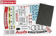 FG4153 Team Dekorbogen Audi A4 Siemens, Set