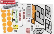 FG4156 Team Dekorbogen Audi A4 Albers, Set