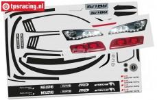 FG4173/01 Audi R8 LMS Dekorbogen, Set