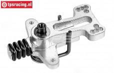 FG4493 Aluminium servo-saver 2WD Komplett, Set