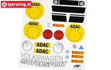 FG5053/01 Dekorbogen VW New Beetle, Set