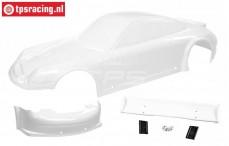 FG5170/06 Karosserie Porsche GT3-RSR 4WD Weiss, Set